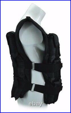 100 lbs. Weight Vest 36 Iron ore weighted bars included