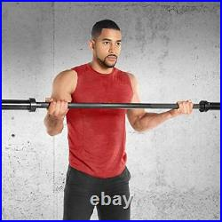 5-Foot 60 Solid Steel Olympic Bar For 2 Inch Weight Plates Bar Weight 11.25KG