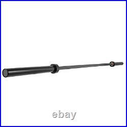 79 Olympic Barbell Bar 1200LB 15Kg Bench Press Bar Fit 2Olympic Plates 170kpsi