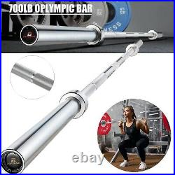7 FT Olympic Barbell Bar Work Out Home Gym 2 in Weight Lifting Bar Power Lifting