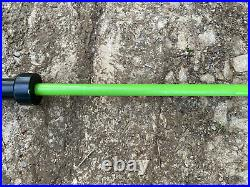 7 Foot Olympic Barbell 2 INCH Barbell 7ft Green Bar Lower 48 States Only