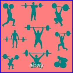 7ft OLYMPIC Weight Barbell Iron Straight Bar Workout Weight Lifting Equipment