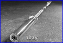 86 Chrome Olympic Barbell lifting Bar Weight Workout Gym Bench 700 Lb
