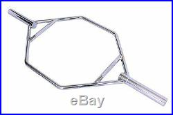 Ader Olympic Shrug Trap Hip Hex Bar with Straight Handles (OHEXB-56)