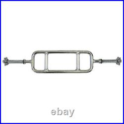 Ader Regular 1 plate 34 X 1 Tricep Threaded Bar with Star Spinlock Collars