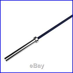 American Barbell Cerakote Olympic Bar Barbell 20KG/45LBS, 7', Black Graphite