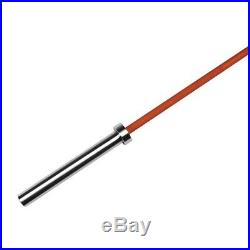 American Barbell Cerakote Olympic Bar Barbell 20KG/45LBS, 7', Hunter Orange