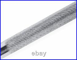 BRAND NEW CAP Barbell 5-Foot Solid Olympic Bar- CHROME (2-Inch) IN HAND