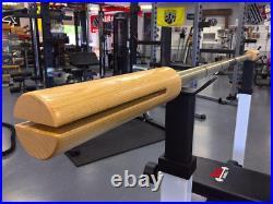 BandBell Bamboo Bar Barbell PowerLifting ReHab PreHab
