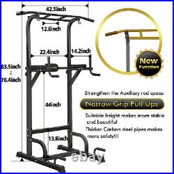 BangTong&Li Power Tower Workout Dip Station Pull Up Bar Dip Exercise Equipment