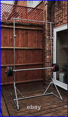 Bench Press Squat Rack And Pull Up Bar
