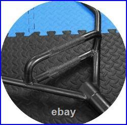 Black Trap Bar 2 Olympic Deadlift Squat 1000 lb Power Weight Lifting Steel Hex