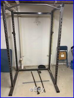 Body Smith By Parabody Excellent Condition-Power Rack With Pull-up Bar
