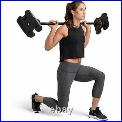 Bowflex SelectTech Adjustable Full Body System Barbell with Curl Bar (Open Box)