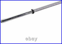 Brand NeW CAP Barbell 7' Standard Solid Bar (1-Inch) 84 Chrome 19 lbs