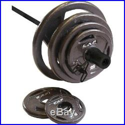 CAP 210LB 2 Olympic Weight Set With 7' Bar BRAND NEW! Ready To ship
