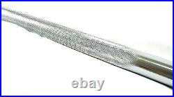 CAP 6 Ft 72'' Standard 1 Bar Solid Steel Barbell Weight 1 Piece With Collars New