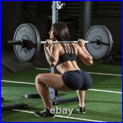 CAP 7Ft Olympic Solid Chrome Bar Weight Lifting Barbell Workout Gym Training US