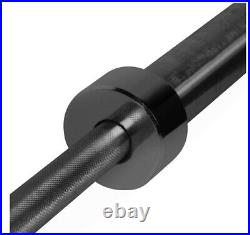 CAP Barbell 2-Inch 7 ft Black Solid Olympic Weight Bar IN HAND SHIPS TODAY
