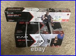 Cap 40 lb Adjustable Dumbbell And 1 Curl Bar Set. Fast Free Shipping