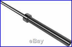 Cap 7' Foot Olympic Weight Lifting Steel Bar Barbell 3 Piece