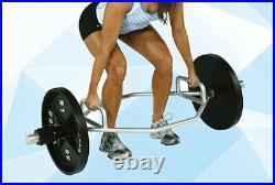 Deadlift Squat Bar Barbell Olympic Hex Hexagon Weight Lifting Non-slip Handle