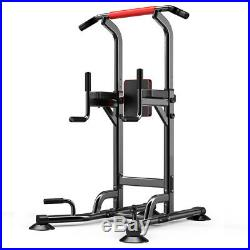Dip Station Pull Push Chin Up Bar Fitness Power Tower Body Exercise Equipment