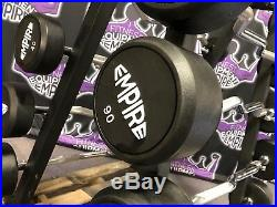 EMPIRE Fixed Curl Bar Set 20-110LB with RACK (NEW) BUYER PAYS SHIPPING