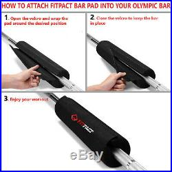 FITPACT Barbell Pad Squat Bar Padding Foam Hip Thrust Lunges Gym Weight Lifting