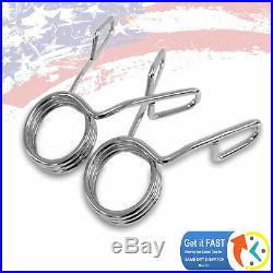 Fitness 34 Barbell Olympic 2 Inch Chrome Tricep Hammer Curl Weight Bar