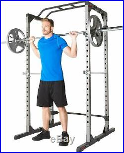 Fitness Reality 810XLT Power Cage Squat Rack Pull Up BarSAME DAY SHIPPING