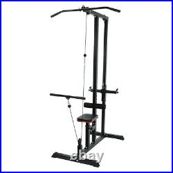 Fitness Training Weigh Home Gym Body Lat Pull Down Machine Low Row Bar Cable