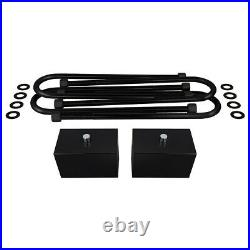 For 99-04 Ford F250 F350 2.5 Front 2 Rear Lift Kit + Adjustable Track Bar 4X4