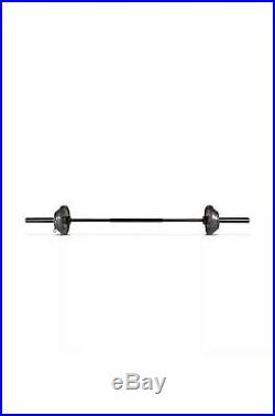 Golds Gym Olympic Weight Set 110 lbs Cast Iron Plates and Bar Ship On 5/11 CAP
