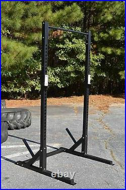 Half Rack with Pull-up Bar, Commercial Grade, Heavy-Duty, Squat Power Cage