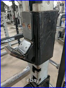 Hammer Strength HALF RACK with Pull Up Bars Squat Weightlifting Gym Cage