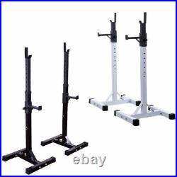 Heavy Duty Weights Bar Barbell Squat Stand Stands GYM Fitness