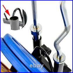 Home Gym Bar Rack Plate Rack Weight Rack With 2 Inch Barbell Holder Stands