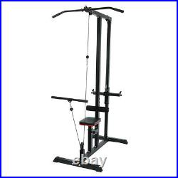 Home Gym Body Lat Pull Down Machine Low Bar Cable Fitness Training Weigh