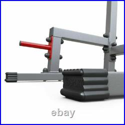 Home Gym Power Tower Dip AB Pull/Chin Up Bar KNEE/LEG Fitness Workout Station