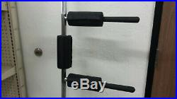 LEONARD Safety Squat Bar COLLARS + PADS INCLUDED Yoke Zinc Plated Barbell