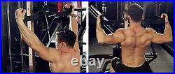 LIFT brand Lat pulldown bar, back rows Ergonomic handles target lats