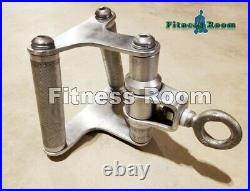 Life Fitness Revolving Chrome Row Cable Attachment Bar