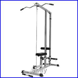 Low Bar Cable Fitness Training Weigh Home Gym Body Lat Pull Down Machine