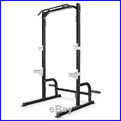 Marcy Half Cage Rack SM-8117 Squat Lift Cage Stand Cross training Pull-up Bar