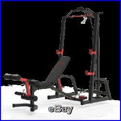 Maxam Hgx-100 Bench Home Gym Barbell Bar