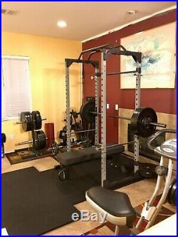 Modular Steel Power Cage. Squat Rack. Pull Up Bar