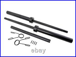 NEW CAP 7 ft Olympic 3 Piece Weightlifting Bar Steel Barbell Bench Squat 300 lb
