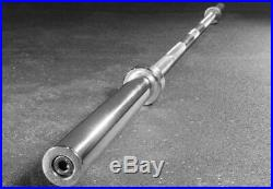 NEW Olympic Barbell 7 Ft Bar 45 lbs Pounds Rated for 700 LBs Free Shipping