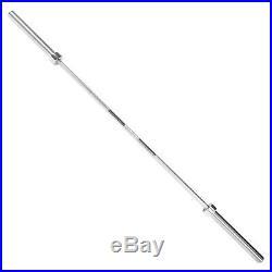New CAP Barbell Classic 7 Foot 500 lb Olympic Bar Chrome